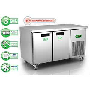 GN2100H600 2 Door Refrigerated Counter
