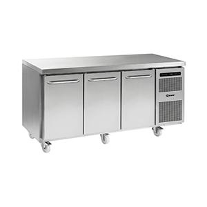Gram 3 Door Counter Refrigerator