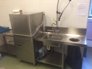 New DC Dishwasher Supplied & Installed at Local Church Cafe