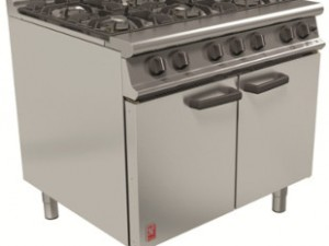 Supply, Install and Servicing the Popular 6 Burner Falcon Oven Range