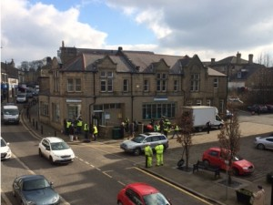 Filming of Ilkley comes to Yeadon