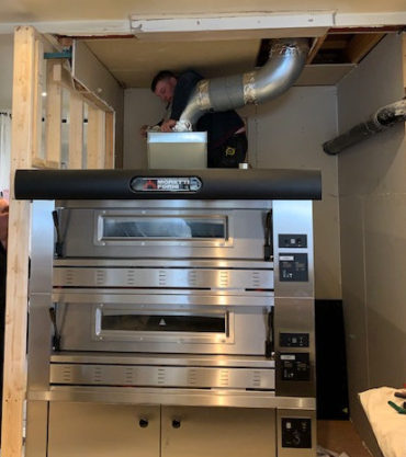 Pizza Oven Install