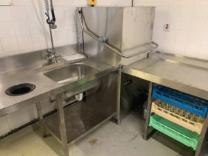 Successful Corner Dishwasher Supply, Installation and Commissioning